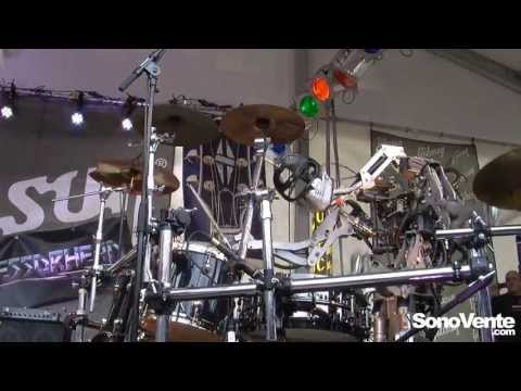 Robocross - Led Zeppelin - Rock n roll - Musikmesse 2013