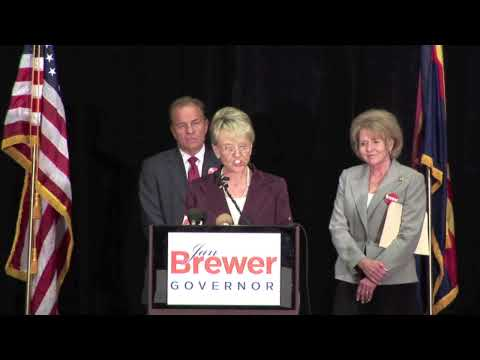 Governor Jan Brewer Announcement
