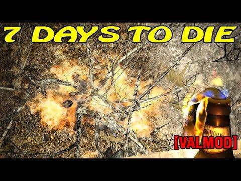 7 Days to Die [Valmod] ► Зажигательный вечер  (16+)
