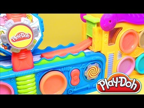Play Doh Fun Factory Play Doh Mega Fun Factory Playdough Hasbro Toys Review