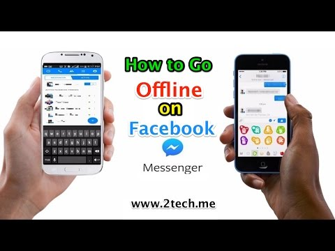 How to Turn Chat Off in Facebook Messenger app