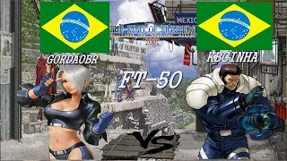 YZKof - Kof 2002 - GORDÃOBR (Brazil) vs KBCINHA (Brazil) FT-50 Parte 2