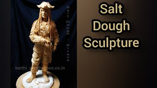 Pirate- salt dough -KARTIST
