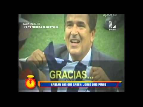 Jorge Luis Pinto: Esto dijo sobre la selección peruana