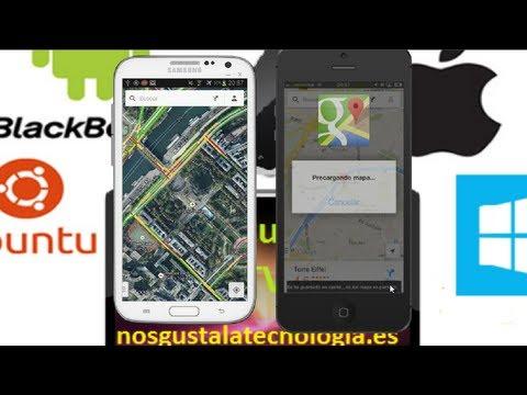 Cómo almacenar  los mapas de Google Maps 2 0 offline en android e iOS