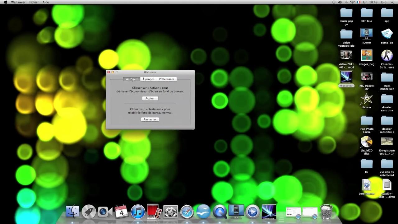 mettre un fond d u0026 39  u00e9cran anim u00e9 et en 3d pour son mac