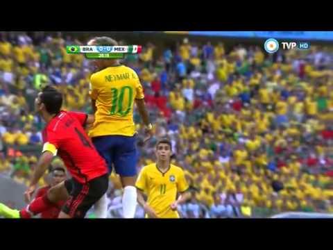 Brasil  0 - 0 Mexico  Mundial Brasil 2014 - Tv publica