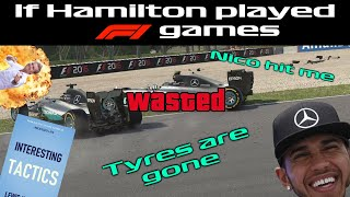 If Hamilton played F1 games