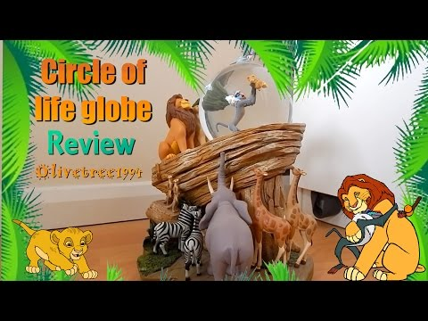 The Lion King Circle Of Life Snow Globe Review