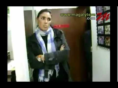 Back stage de Isabel rabago en Magaly TV 03/09/09 Parte1