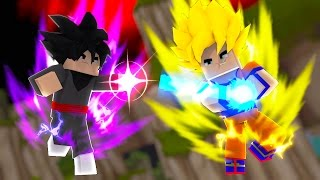 Minecraft: DRAGON BALL SUPER - GOKU vs GOKU BLACK