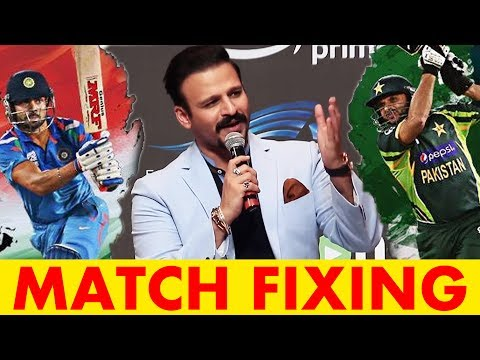 Vivek Oberoi FUNNY REACTS On Pakistani Singer Allegation On Pakistan Match Fixing For IndvsPAK