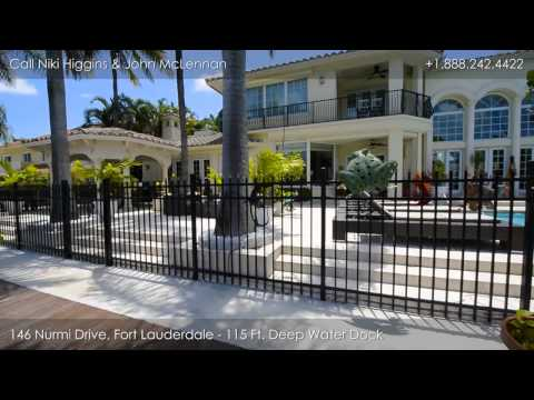 Luxury Waterfront Estate Home, 146 Nurmi Drive, Fort Lauderdale, Florida