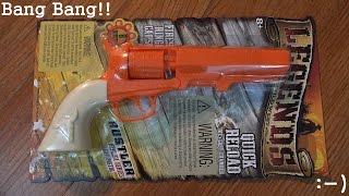 Toy Guns: Rustler Replica Series Cap Pistol - Legends of the Wild West