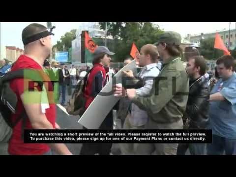 Russia: Anti-Putin protesters march for release of 'political prisoners'