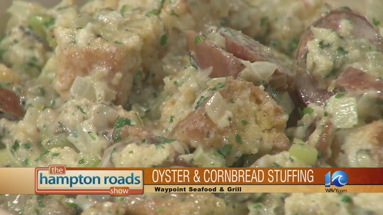 Cornbread and Oyster Stuffing - YouTube