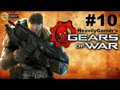 Gears Of War Gameplay Walkthrough (PC) Playthrough Act 5: Desperation/PowerPlant/Brumak Boss Battle