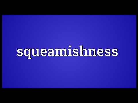 Header of squeamishness
