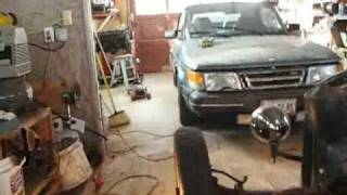 Disc Brake changover on early Ford straight axel