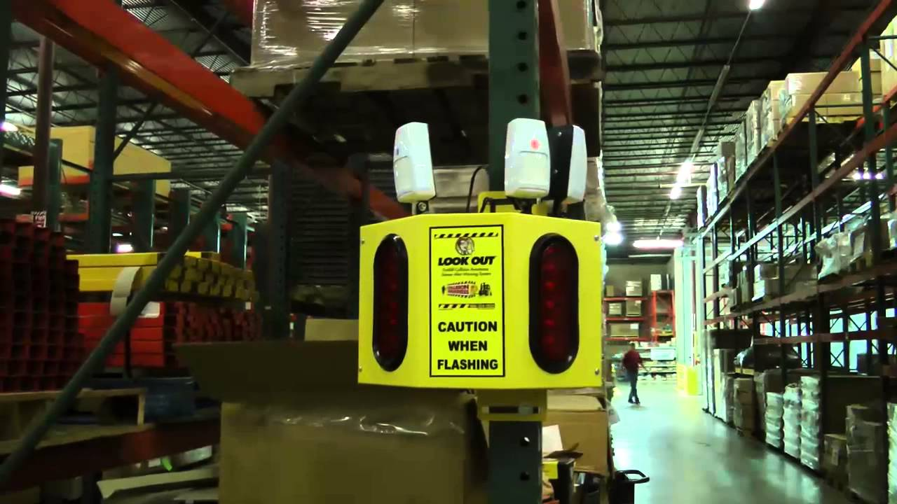 Collision Awareness Warehouse Traffic Sensor Youtube