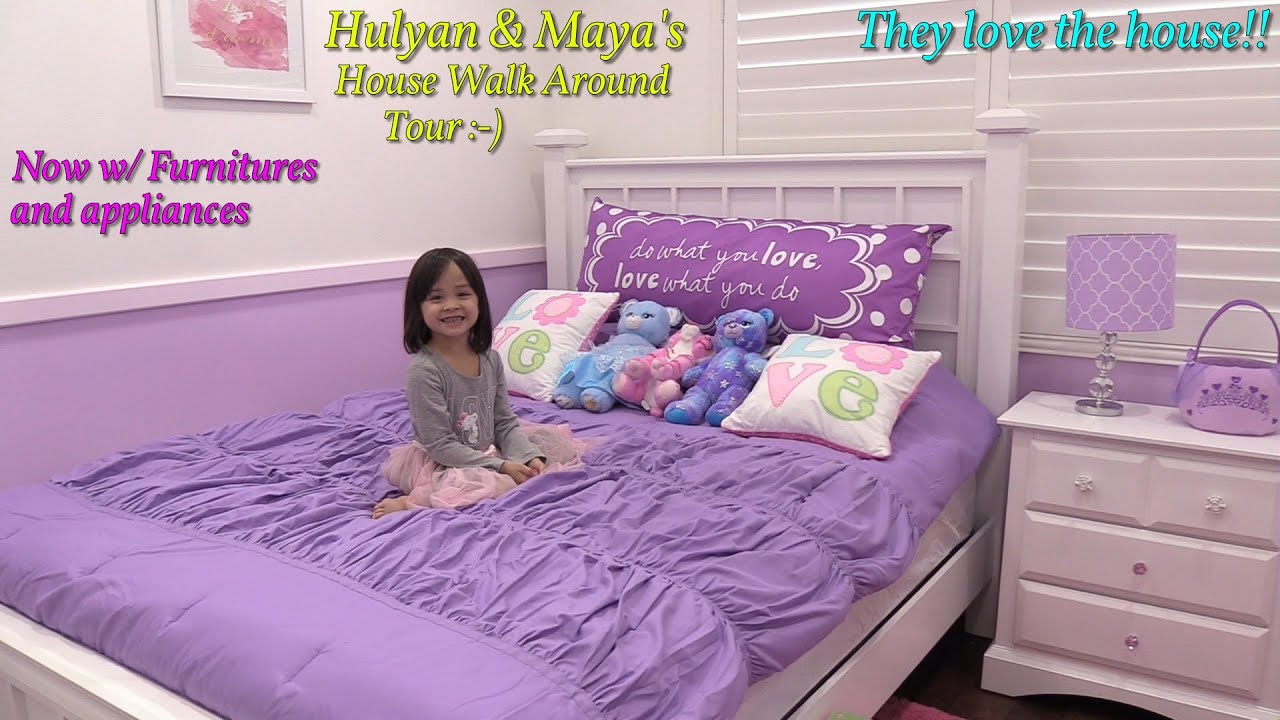Buying a New House: Hulyan and Maya's NEW Home Tour. An Update Showing and Walk Around