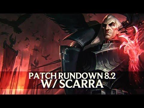 Patch Rundown 8.2 w/ Scarra + Swain Rework Review