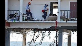 Florida resident surveys 'total devastation' from Hurricane Michael