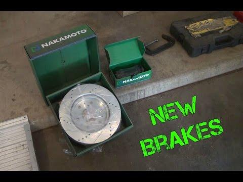 2012 GMC Sierra Front Brake Replacement