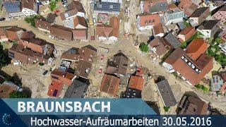 Hochwasser-Aufräumarbeiten In Braunsbach - 30.05.2016