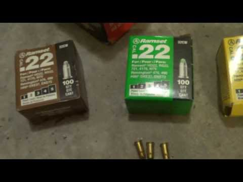 RAMSET RS22 Single Shot 22 Cal Power Fastener