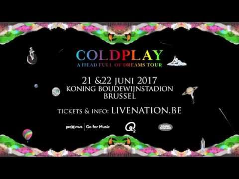 Coldplay - Koning Boudewijnstadion, Brussel | 21 & 22.06.2017