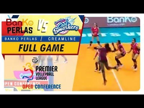 PVL OC 2018: BanKo-Perlas vs Creamline   Game  1st Set  October 17 2018
