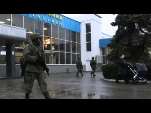 Ukraine crisis Crimea airports occupied - 28 February 2014