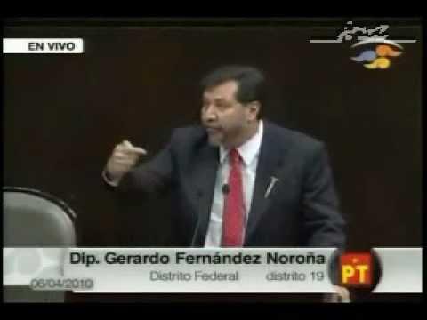 Terminó la legislatura y se despide el mejor diputado de México, Fernández Noroña.