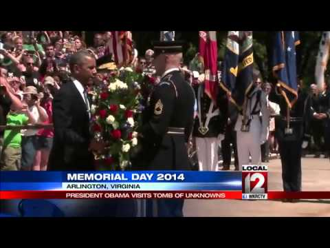 President Obama leads country in celebrating Memorial Day