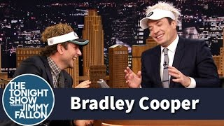 Bradley Cooper and Jimmy Can't Stop Laughing