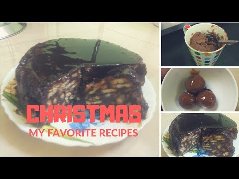 3 EASY CHRISTMAS RECIPES 2018 II HOW TO MAKE HOMEMADE CHRISTMAS RECIPES II