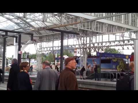 Train Travel in Europe Salzburg Austria & Berchtesgaden Germany 2012