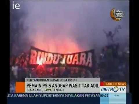 PSIS vs Persebaya Ricuh di Semarang (Juli 2013), Adu Jotos pun tak terhindarkan