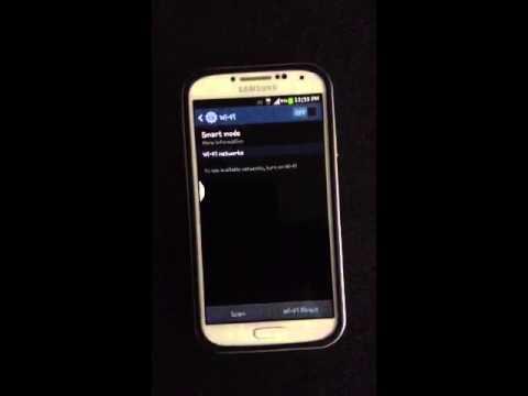 Galaxy S4 auto wifi problem