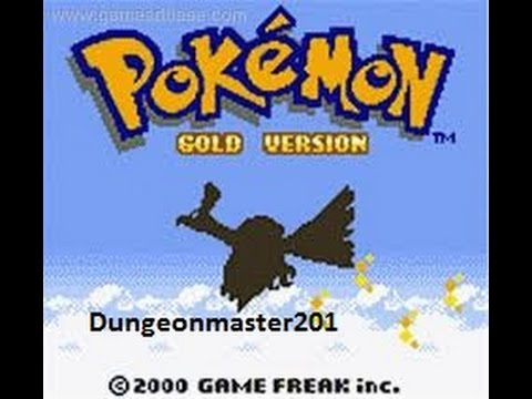 Misc Computer Games - Pokemon Silver Gold Crystal - Route 38