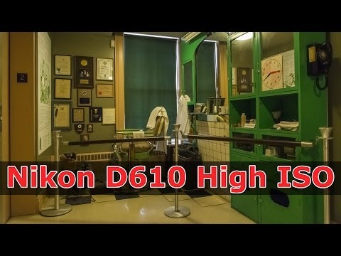 Nikon D610: Day 1 - Shooting HIGH ISO On Assignment at the Woodstock Museum with the Nikon D610