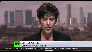 RT reporter Paula Slier forced to flee Ukraine after death threats