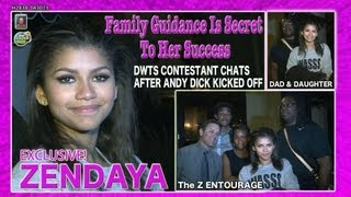 Zendaya & Z Entourage Chat About Secret of Her Success