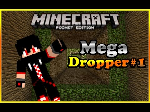 Minecraft PE mega dropper part 1 (awesome)
