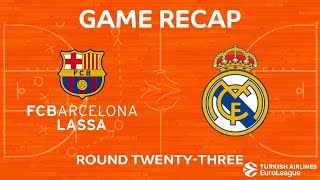 Highlights: FC Barcelona Lassa - Real Madrid