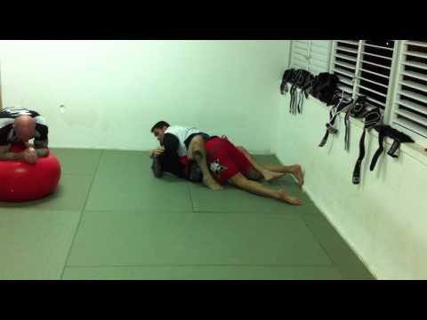 Haim Gozali and Ricco Rodriguez Grappling Rolling for the IFC Image 1