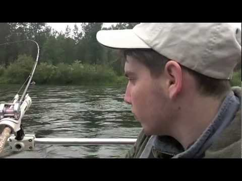 Burns Boys Fishing Trip on the Cowlitz River