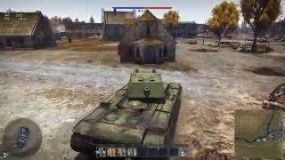 Смотреть видео прохождения игры вар тандер танк кв 1