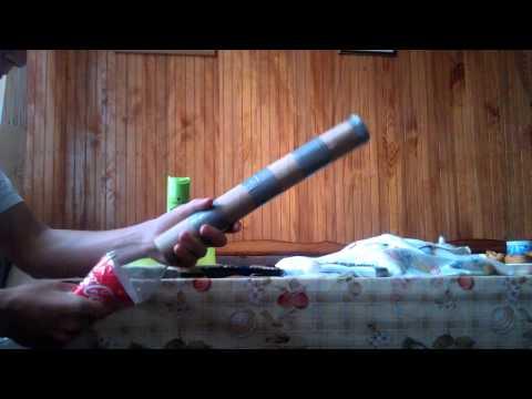 Самодельная пушка своими руками